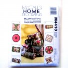 Home Decorating Pillow Essentials McCalls Sewing Pattern M4410
