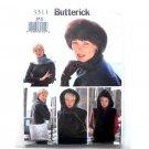 Misses Vest Headwrap Headband Scarf Bag XS - S Butterick Pattern 3311