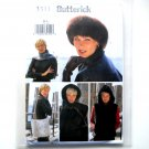 Misses Vest Headwrap Headband Scarf Bag Butterick Sewing Pattern 3311