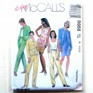 Misses Unlined Jacket Dress Top Pants Out Of Print McCalls Sewing Pattern 8668