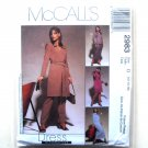 Misses Dress Top Skirt Pants Out Of Print McCalls Sewing Pattern 2983