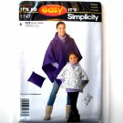 Misses Ponchos So Easy Simplicity Pattern 1747