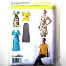 Misses Knit Dress Tunic Pants 8 10 12 14 16 Simplicity Sewing Pattern 2369