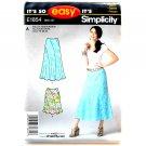 Misses Skirt 10 12 14 16 18 20 Easy Simplicity Pattern E1854