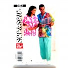 Scrubs Top Pants Unisex XS S M See and Sew Pattern 3823