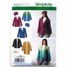 Misses Jacket Hat Design Karen Z Simplicity Sewing Pattern 4025