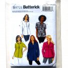 Womens Shirt Plus 26W - 32W Easy Butterick Pattern B5721