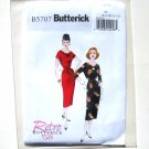 Misses Dress And Belt 6 - 14 Retro 58 Butterick Sewing Pattern B5707