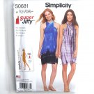 Misses Super Jiffy Cover Up Simplicity Sewing Pattern S0681