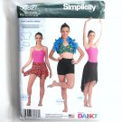 Girls & Misses Knit Dancewear Simplicity Sewing Pattern S0827