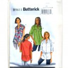 Misses Shirt 10 - 18 Easy Butterick Pattern B5611