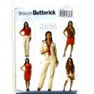 Misses Jacket Dress Skirt Pants 8 - 14 Easy Butterick Pattern B5619