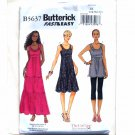 Misses Tunic and Dress Butterick Pattern B5637 Fast Easy Size L - XXL