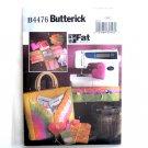 Fat Quarters Sewing Accessories Butterick Pattern B4476