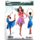 Girls' Knit Dancewear Simplicity Sewing Pattern S0302