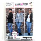Misses' Lined Jacket Simplicity Sewing Pattern S0299