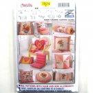 Cushions Pillows Burda Creativ Sewing Pattern 7974