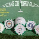 THE MASTERS BRITISH OPEN PGA CHAMPIONSHIP RYDER CUP POKER CHIP GOLF BALL MARKERS