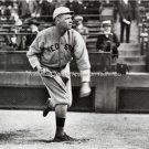 Babe Ruth Pitching Boston Red Sox Baseball Yankees Legend PhotoThe Great Bambino