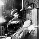 VINTAGE RARE 1909 PHOTO WOMAN DR DENTIST OFFICE TOOTH EXTRACTION DENTAL MEDICAL