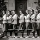 Vintage Holton Arms Girls Private School Womens Basketball Sports Team Photo