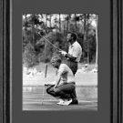 Jack Nicklaus Arnold Palmer 1972 Framed Golf Photo