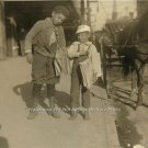 BROTHERS SELLING NEWSPAPERS IN DALLAS TEXAS VINTAGE 1913 PHOTO CLASSIC