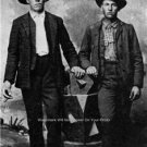 BOB AND COLE YOUNGER JAMES GANG OUTLAW CONFEDERATE CIVIL WAR VETERAN 1875 PHOTO