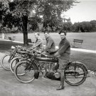 RARE VINTAGE INDIAN CHIEF SCOUT MOTORCYCLES 1910 PHOTO AMERICAN MADE BIKES