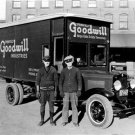 GOODWILL INDUSTRIES WORK TRUCK PHOTO NOSTALGIA CHARITY THRIFT STORES GLOBAL