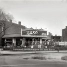 Vintage Gas Station Texaco Esso Standard Oil Company Collectors Wall Art Photo