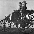 RARE KARL BENZ 1888 PHOTO MERCEDES BENZ GERMAN AUTOMOBILE GASOLINE POWERED CAR