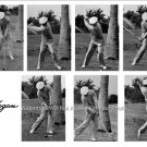 THE HAWK SEQUENCE POSTER BEN HOGAN PHOTO PGA PROFESSIONAL GOLFER AUGUSTA MASTERS