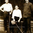 Alex Smith with his Brothers 1905 Great Golf Photo