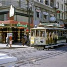 San Francisco California Powell Streetcar Cable Car Chinatown 1958 Vintage Photo