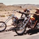 THE MOVIE EASY RIDER PETER FONDA HARLEY MOTORCYCLES CAPTAIN AMERICAN PHOTO 1969