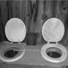 Old Country Outhouse Johnny House John Toilet Dunny Loo Water Closet Fun Photo