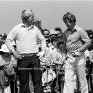 JACK NICKLAUS TOM WATSON PGA PROS MASTERS GOLF CHAMPION 1977 BRITISH OPEN PHOTO
