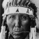 VINTAGE 1927 PHOTO CHEYENNE NATIVE AMERICAN INDIAN CHIEF RED BIRD GREAT HERITAGE