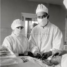 Vintage Medical Medicine Doctors Nurses Operating Room Surgery Dr Office Photo