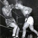 RARE ROCKY MARCIANO JOE LOUIS 1951 WORLD HEAVYWEIGHT CHAMPION BOXING FIGHT PHOTO