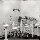 Doctor Nurse Dentist Vintage Medical Dental Spit Bowl Dispensary Equipment Photo