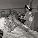 Vintage Medical Medicine Hospital Red Cross Nurses Aide Wounded Soldier Photo