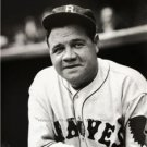 BABE RUTH BOSTON BRAVES BASEBALL HALL OF FAME MAJOR LEAGUE BASEBALL PHOTO