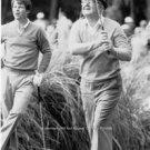 Tom Watson watching Byron Nelson Rare Golf Photo Great