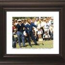 Hogan Palmer Masters Smoking Framed Golf Photo Huge