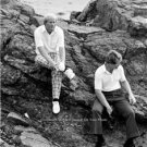 JACK NICKLAUS TOM WATSON PEBBLE BEACH U.S. OPEN PGA PROFESSIONAL GOLF PHOTO
