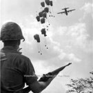 Airborne force Paratroopers Army Pilots Combat Troops Soldiers Vietnam War Photo
