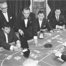 Frank Sinatra Las Vegas Baccarat Sands Casino Singer Movie Star Rat Pack Photo