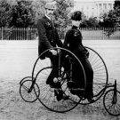 Rare photo of an 1850 Bicycle built for Two Photo